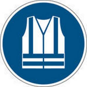 Brady PP pictogram M015 Wear high visibility clothing 200mm