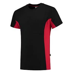 T-shirt Tricorp TT2000 Bi-color, noir/rouge, taille L, la pièce