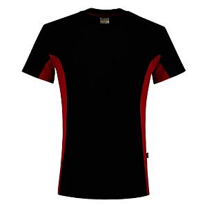 T-shirt Tricorp TT2000 Bi-color, noir/rouge, taille 5XL, la pièce