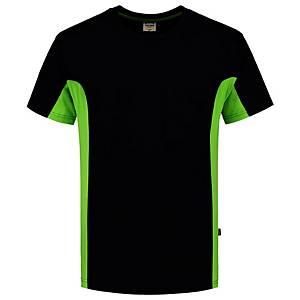 T-shirt Tricorp TT2000 Bi-color, noir/vert, taille 7XL, la pièce