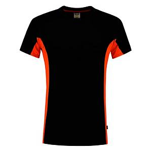 Tricorp TT2000 bi-color T-shirt black/orange - size M
