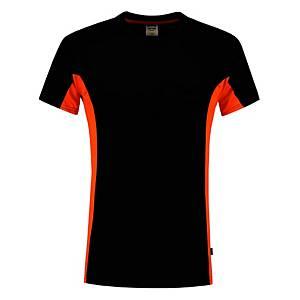 Tricorp TT2000 Bi-color T-shirt, zwart/oranje, maat M, per stuk
