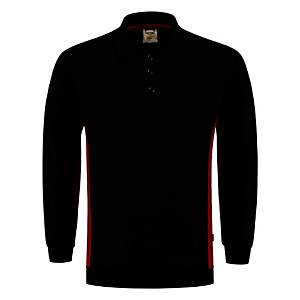 Tricorp TS2000 bi-color Sweater black/red - size L