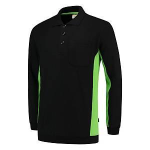 Tricorp TS2000 bi-color Sweater black/green - size L