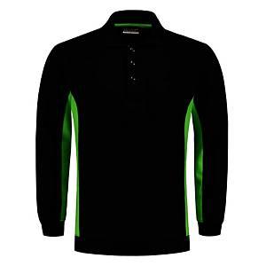 Tricorp TS2000 Bi-color trui, zwart/groen, maat 7XL, per stuk