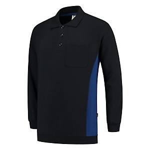Tricorp TS2000 bi-color Sweater navy blue/royal blue - size XS