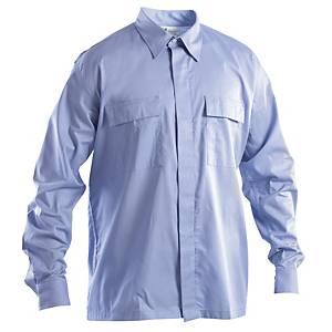 Camicia ignifuga antistatica e antiacido P&P azzurra tg S