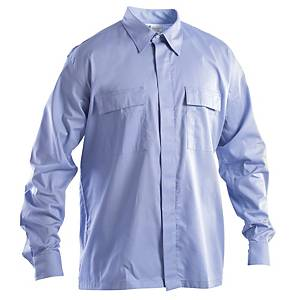 Camicia ignifuga antistatica e antiacido P&P azzurra tg L