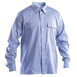 Camicia ignifuga antistatica e antiacido P&P azzurra tg 3XL