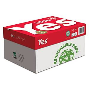 Yes Multifunction A3 Paper 80g Silver - Ream of 500 Sheets