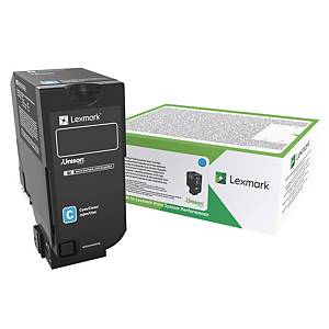 Lasertoner Lexmark 84C2HCE, 16 000 sider, cyan