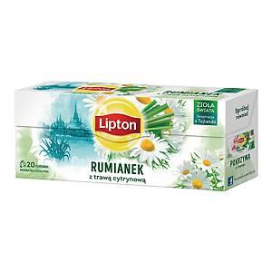PK20 LIPTON CAMOMILE&LEMON GRASS TEA