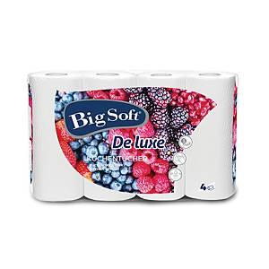 Big Soft De Luxe konyhai papírtörlők, 3 rétegű