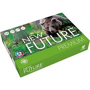 Papier pour photocopieur New Future Premium A4, 80 g/m2, blanc, paq. 500flles