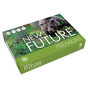 Multifunktionspapir New Future Premium, A4, 80 g, 5 x 500 ark