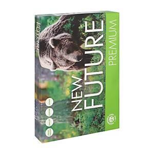 New Future Premium papier blanc A4 80g - 1 boite = 5 ramettes de 500 feuilles