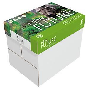 Caja de 5 paquetes 500 hojas de papel New Future Premium - A4 - 80 g/m2