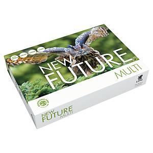 Multifunksjonspapir New Future Multi A4 80 g, eske à 5 x 500 ark