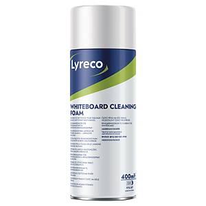 Mousse nettoyante Lyreco pour tableau blanc, 400 ml