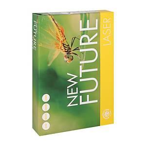 Papier A4 blanc New Future Laser, 80 g, la boîte de 5 x 500 feuilles