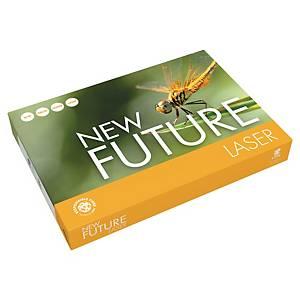 Papir til sort/hvit-utskrift New Future Lasertech A3, 80 g 3 x 500 ark