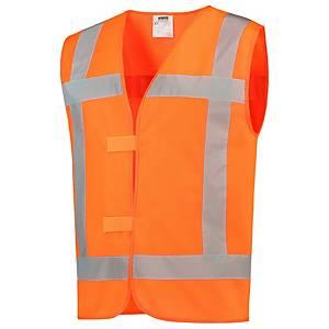 Tricorp V-RWS hi-viz waistcoat orange - size XL