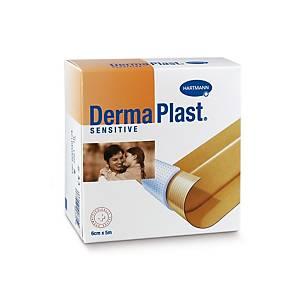 Wundschnellverband DermaPlast Sensitive, 6 cm x 5 m, hautfarbig