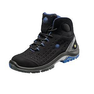 Chaussures de sécurité Bata Nova Sync, S1P, noires/bleues, pointure 44, la paire