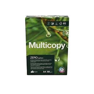 Carta bianca Multicopy Zero A4 80 g/mq - risma 500 fogli