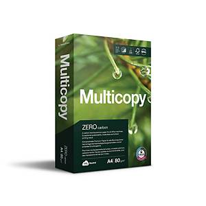 Multifunktionspapper Multicopy Zero A4 80 g 500 ark/fp
