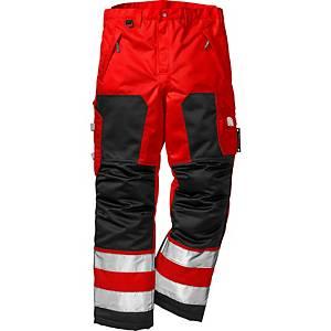 FK 2034 huomiotalvihousut punainen/musta XL