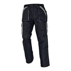 Spodnie CERVA MAX CLASSIC, czarno-szare, rozmiar 54
