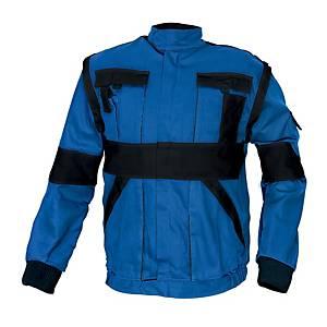 Pracovná blúza CERVA MAX, veľkosť 52, modrá