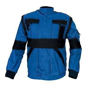 CERVA MAX férfi munkadzseki, méret 54, kék/fekete