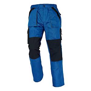Pracovné nohavice CERVA MAX, veľkosť 52, modré