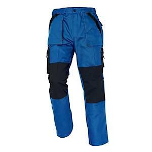 Pracovní kalhoty CERVA MAX, velikost 58, modročerné