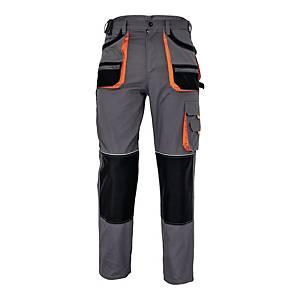 Spodnie robocze F&F BE-01-003, szare, rozmiar 52