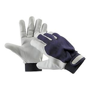 PAIR CERVA PELICAN GLOVES BLUE 8