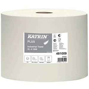 Industriaftørring Katrin 481009 XL4 1000, rulle a 1.000 m