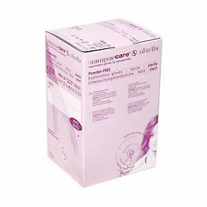 Einweghandschuhe Sempercare steril/Nitril, ungepudert, Gr. M, blau