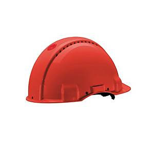 Safety helmet 3M G3000, made of ABS, adjustment range 54-62 cm, blue