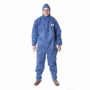 Schutzanzug 3M 4515, Typ 5/6, Grösse XL, blau