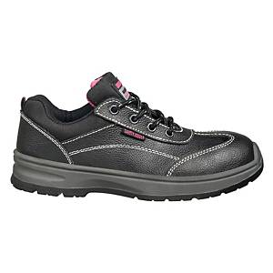 Safety Jogger Bestgirl S3 Low Cut Safety Shoes Black - Size 36