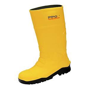 Kalosze PPO 2051 S5 CI SRC, żółte, rozmiar 43