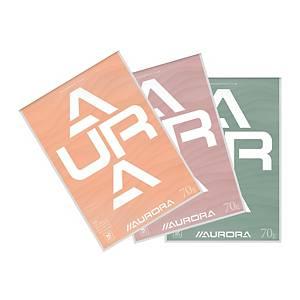 Aurora schrijfblok, A4, gelijnd, 100 vellen