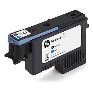 /Testina cartuccia inkjet HP F9J86A 130ML nero fotografico - ciano