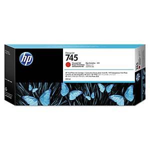 /Cartuccia inkjet HP F9K06A 300ML rosso cromatico
