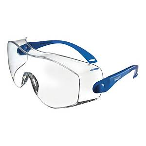 Okulary DRÄGER X-PECT 8120, bezbarwne, filtr UV 2C-1,2, nakładane na okulary