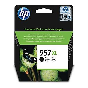 Bläckpatron HP 957XL L0R40AE, 3 000 sidor, svart