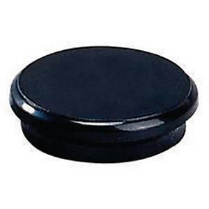 Dahle ronde magneet, 24 mm, zwart, per 10 magneten